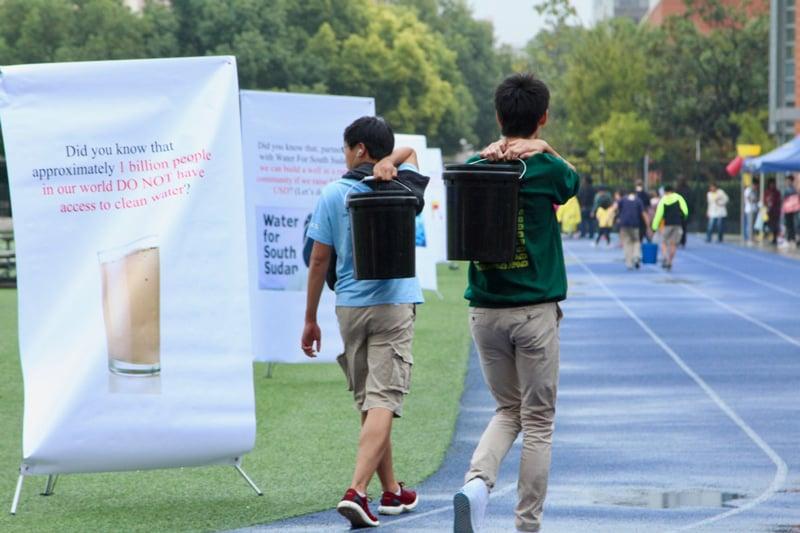 Shanghai-student-water-walk