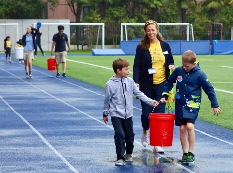 elementary-students-water-walk