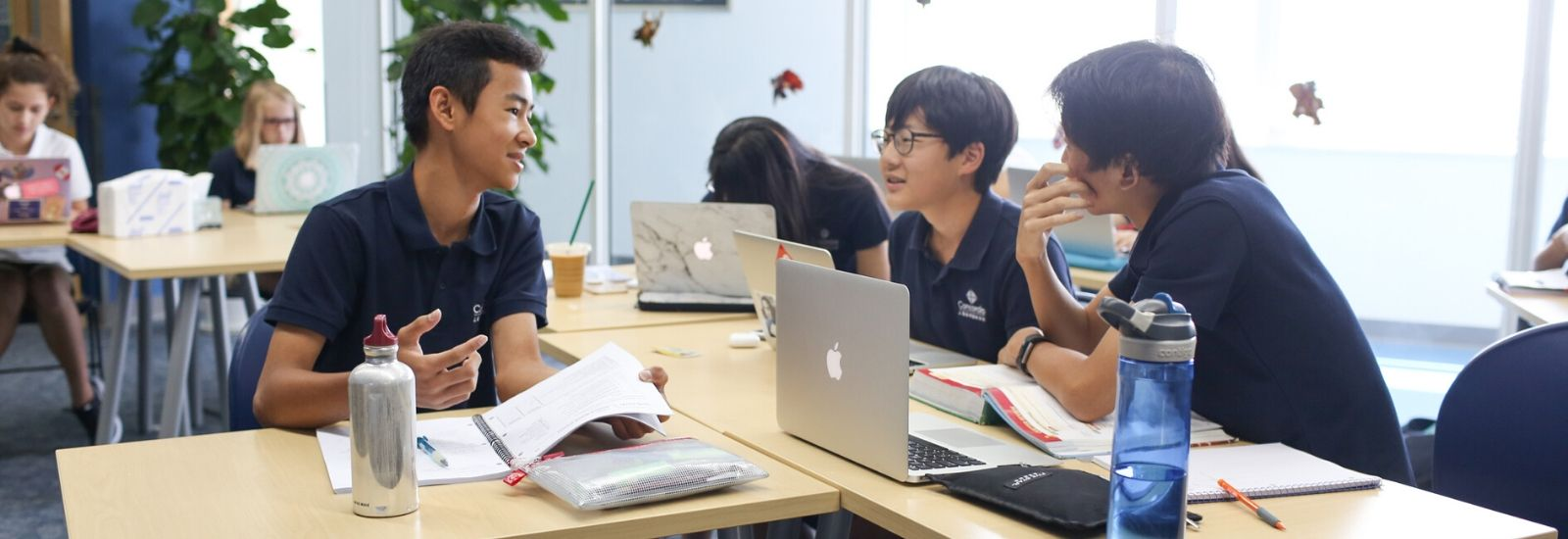 Concordia students enjoy both problem-centered and student-centered approach to learning.