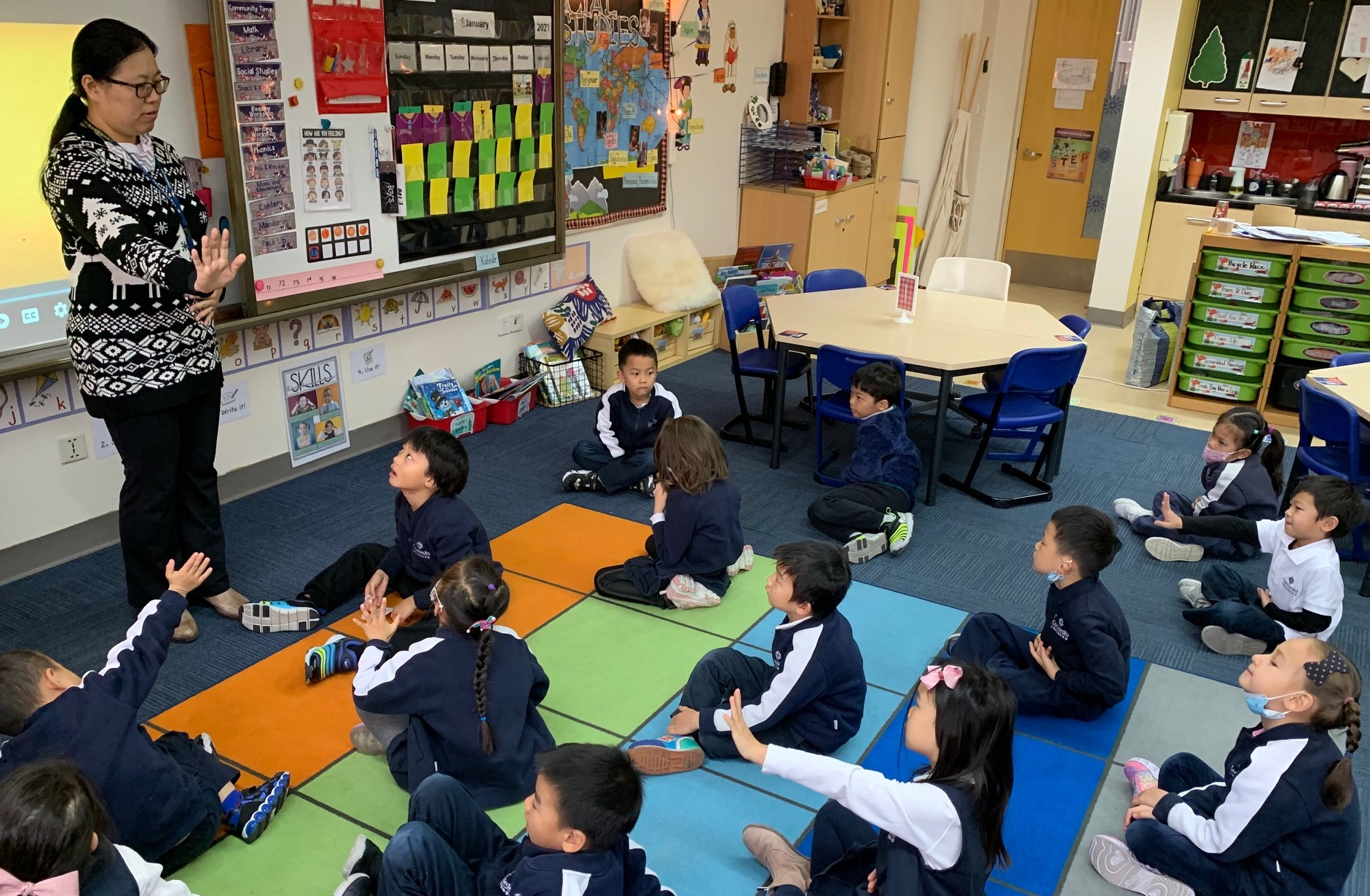 Kindergarten Guidance Program Teaches Students Social-emotional Skills