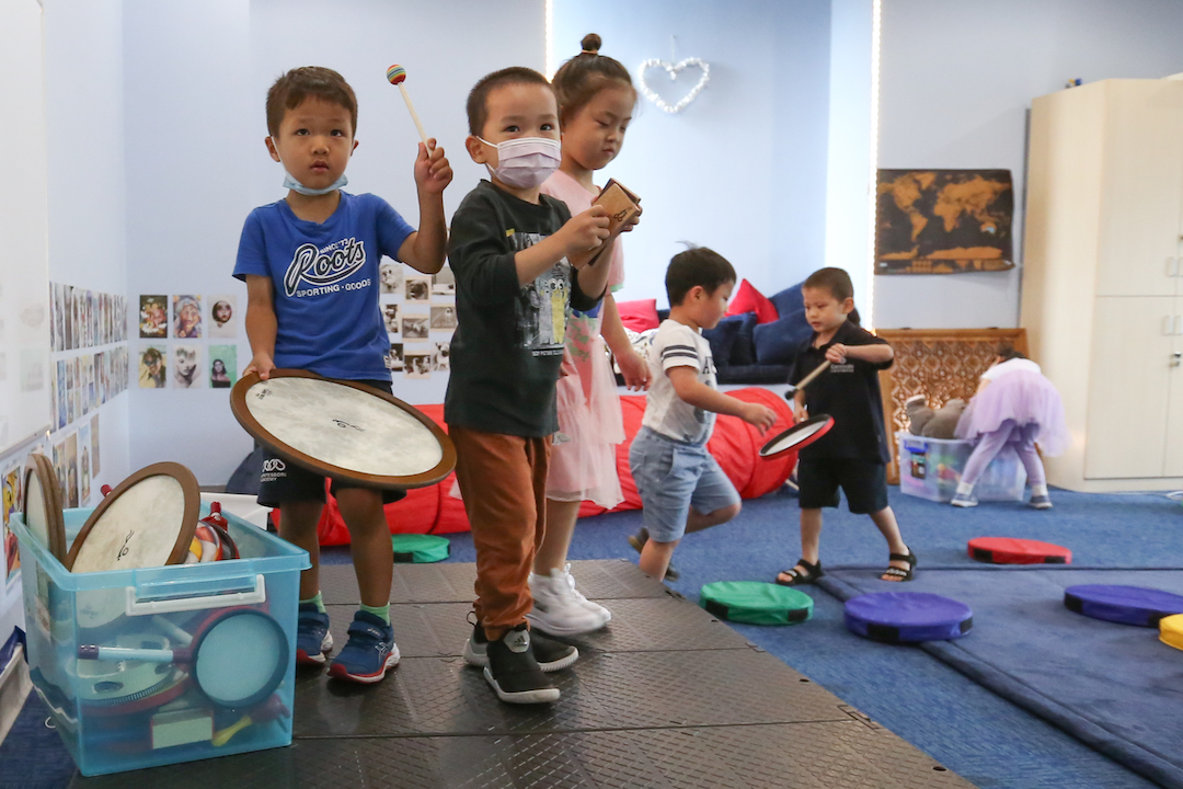 Benefits of Music and Movement for Child Brain Development