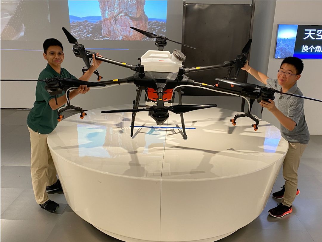 Visit to DJI Leaves These Concordia Students Awestruck