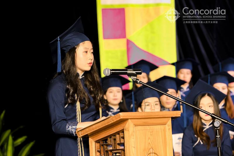 Senior Address at Concordia Shanghai Graduation 2021