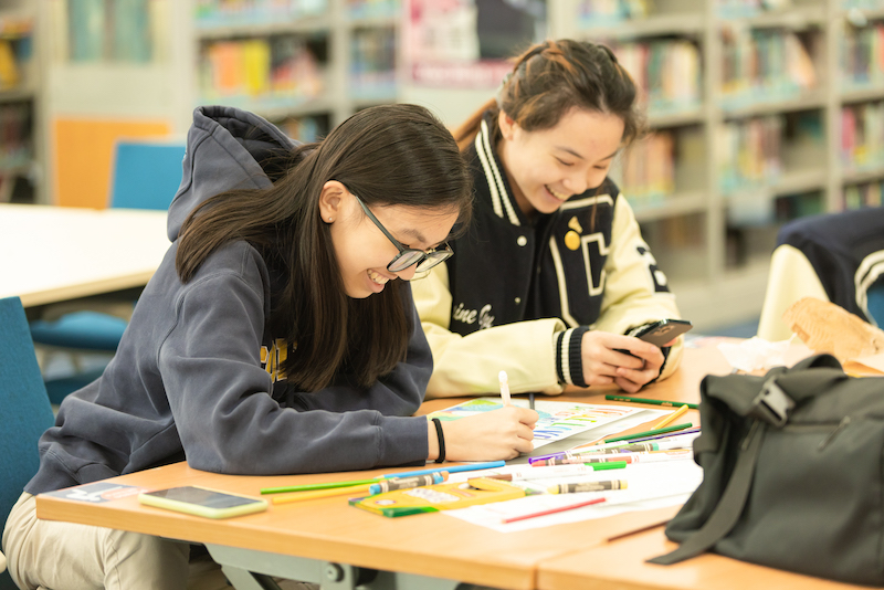Students Take Advantage of Opportunities for Balance